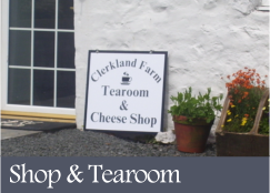 Shop and Tearoom - Clerkland Farm